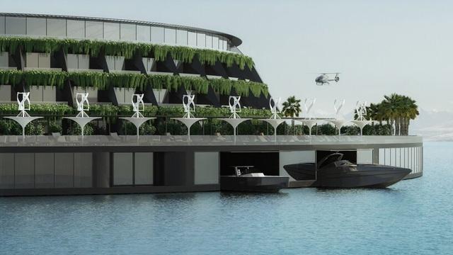 Khách sạn ốc đảo giữa lòng biển khơi tự xoay tròn trong 24 giờ - 5