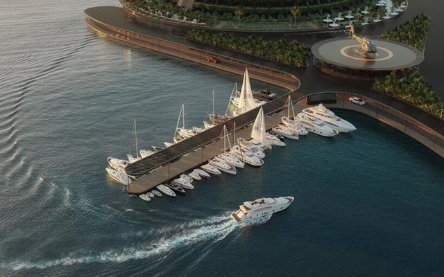 Khách sạn ốc đảo giữa lòng biển khơi tự xoay tròn trong 24 giờ - 9