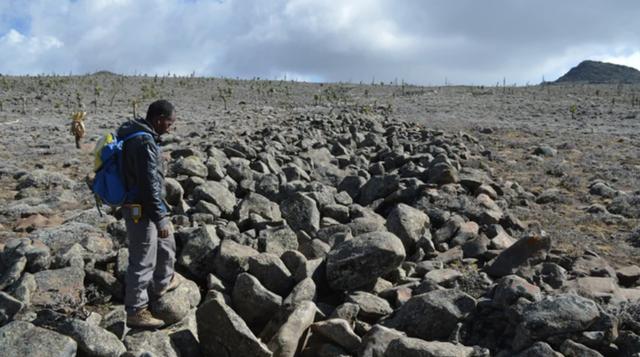 Bí ẩn các sọc đá vằn hổ xuất hiện trên khắp Ethiopia - 1