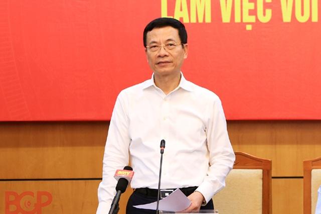 Bộ trưởng Nguyễn Mạnh Hùng: Chuyển đổi số không nên bắt đầu bằng đại dự án - 1