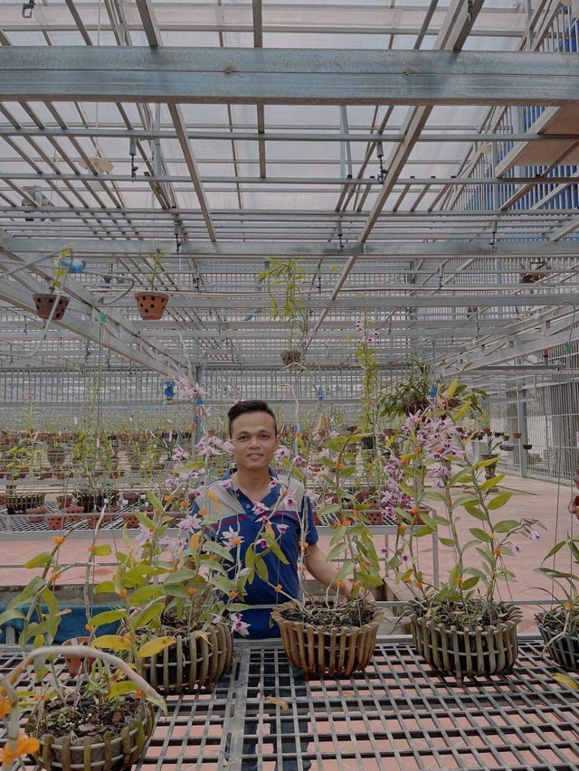Nghệ nhân Trịnh Đình Lộc chia sẻ bí kíp cứu hoa lan khỏi sâu bệnh - 2