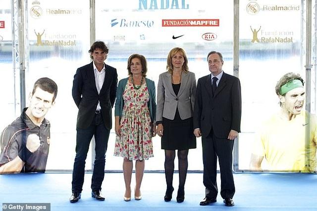 Rafael Nadal và Roger Federer được mời đến thi đấu ở sân Bernabeu - 3