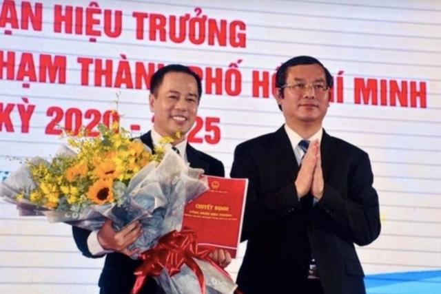 GS.TS Huỳnh Văn Sơn chính thức trở thành Hiệu trưởng ĐH Sư phạm TPHCM - 2