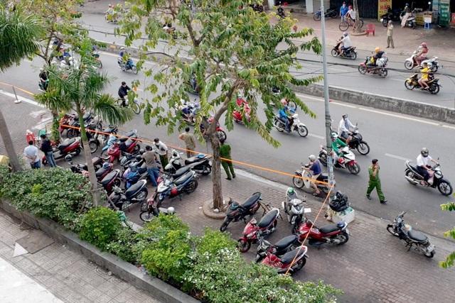 Hai cô gái tử vong nghi bị rơi lầu chung cư ở Sài Gòn - 1