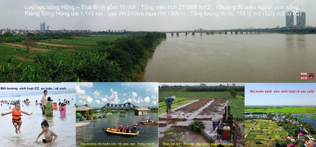 Không tính chuyện xây nhà bán đất, lấy thuận thiên quy hoạch sông Hồng - 3