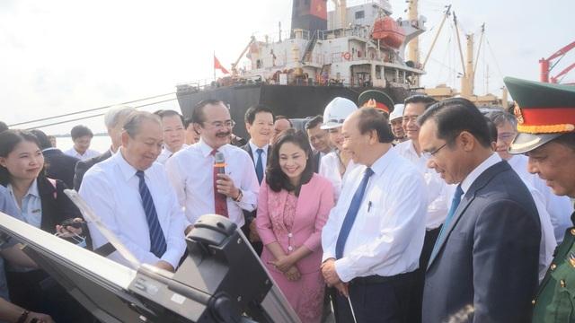 Thủ tướng khảo sát dự án nhà máy điện 3 tỷ USD ở Long An - 2