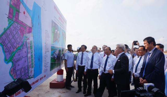 Thủ tướng khảo sát dự án nhà máy điện 3 tỷ USD ở Long An - 1