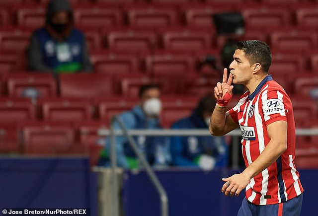 Luis Suarez đạt mốc 500 bàn, Atletico tiếp tục bỏ xa Barcelona, Real Madrid - 3