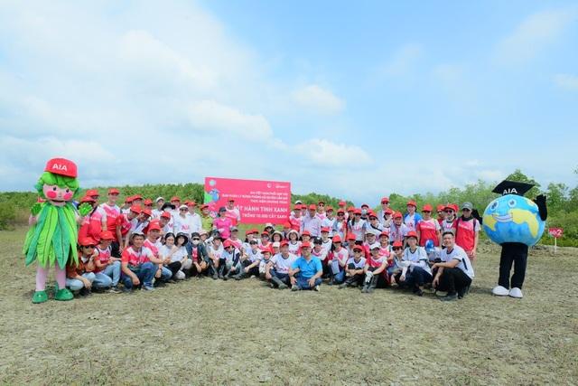 AIA Việt Nam phủ xanh 10.000 cây cho rừng phòng hộ Cần Giờ - 4