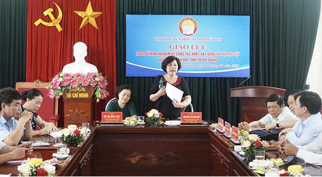 Phú Thọ tổ chức giao lưu trao đổi kinh nghiệm về công tác khuyến học - 2