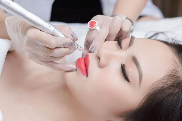 Bí quyết chăm sóc môi sau xăm với Dr Xam Spa