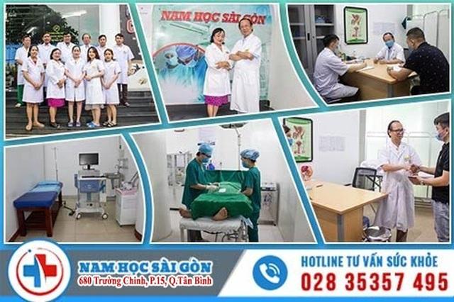 Nam học Sài gòn - phòng khám uy tín chuyên điều trị bệnh nam khoa tại TP. HCM - 1