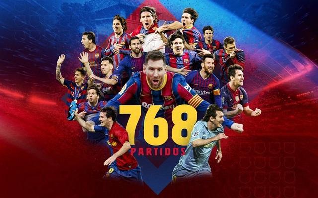 Messi lập kỷ lục vĩ đại trong ngày tỏa sáng rực rỡ - 1