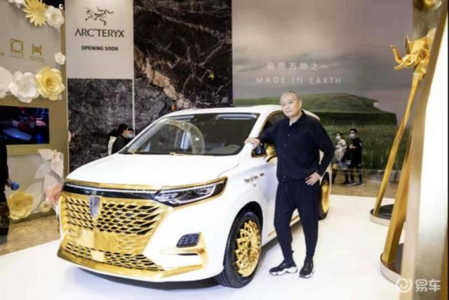 Hãng ô tô Trung Quốc gây chú ý bằng chiếc xe mạ vàng chói lóa - 5