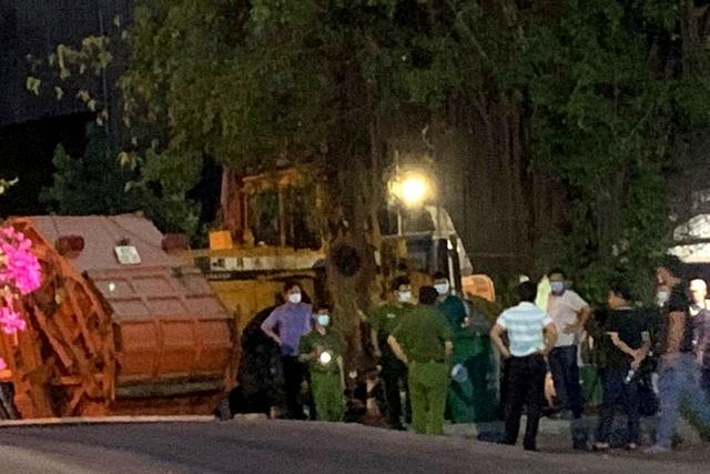 Xe chở rác cán nam công nhân tử vong rồi mang thi thể đi 20km - 1