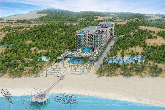 Long Beach Resort Phú Quốc lộ diện ngay trung tâm đảo Ngọc - 1
