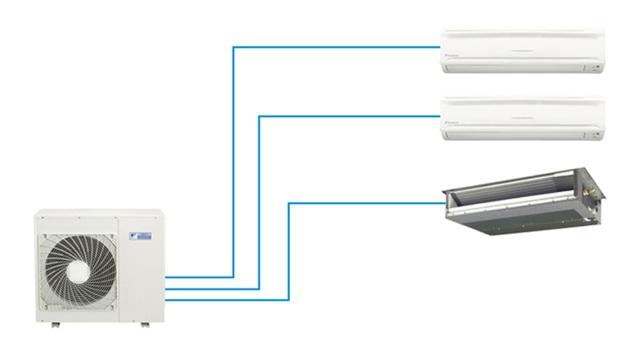 Có nên lắp nhiều dàn lạnh điều hòa chung cục nóng để tiết kiệm diện tích? - 4