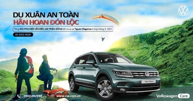 Tặng Gói phụ kiện 100 triệu cho SUV Tiguan bán chạy nhất của Volkswagen - 5