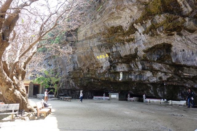 Kỳ lạ ngôi chùa không sư trong hang đá núi lửa nghìn năm ở Lý Sơn - 2