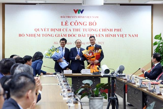 Thủ tướng Nguyễn Xuân Phúc trao quyết định bổ nhiệm Tổng Giám đốc VTV - 2