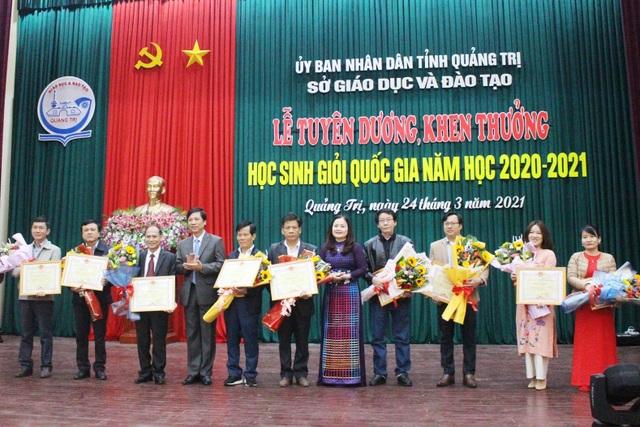 Quảng Trị:  Tuyên dương, khen thưởng các học sinh đoạt giải quốc gia  - 2