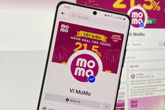 Sử dụng fanpage giả mạo để chiếm đoạt tài khoản Ví MoMo - 1