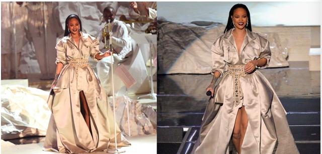Rihanna và những trang phục đốt cháy sân khấu - 1
