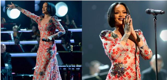 Rihanna và những trang phục đốt cháy sân khấu - 2