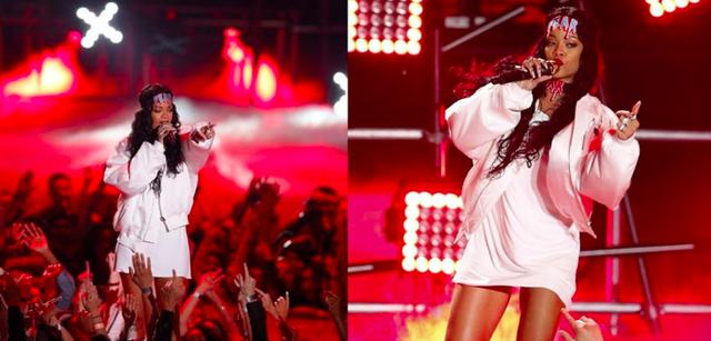 Rihanna và những trang phục đốt cháy sân khấu - 4
