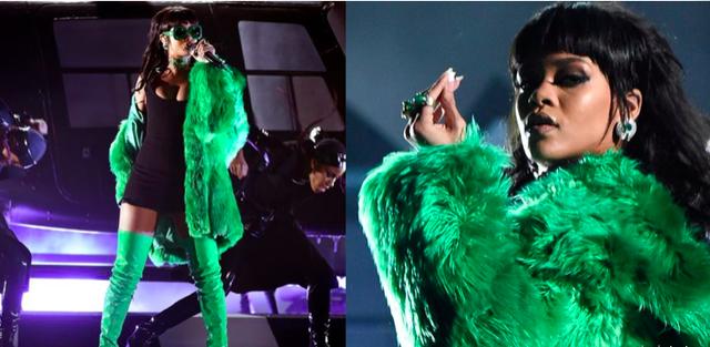 Rihanna và những trang phục đốt cháy sân khấu - 8