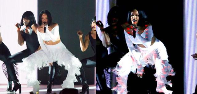 Rihanna và những trang phục đốt cháy sân khấu - 9