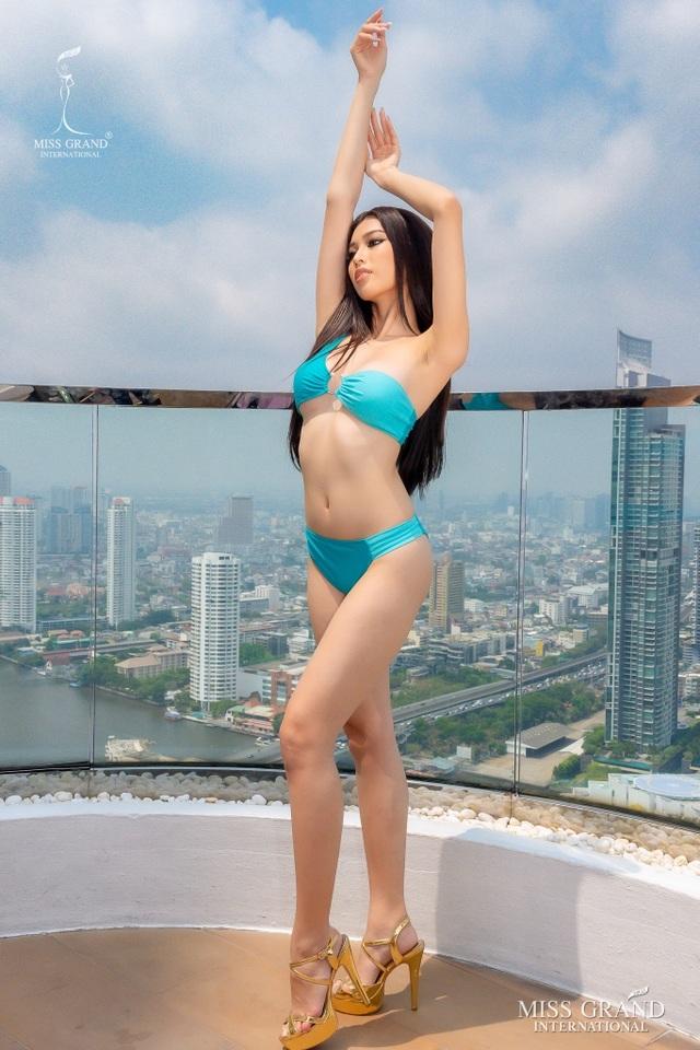 Việt Nam trượt top 5 thí sinh trình diễn áo tắm Hoa hậu Hòa bình Thế giới - 6