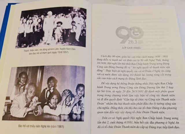 Ra mắt sách về lịch sử Đoàn và phong trào thanh thiếu niên tỉnh Nghệ An - 6