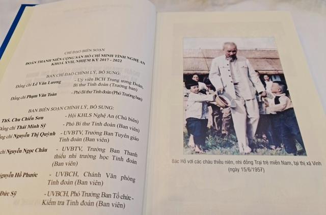 Ra mắt sách về lịch sử Đoàn và phong trào thanh thiếu niên tỉnh Nghệ An - 5