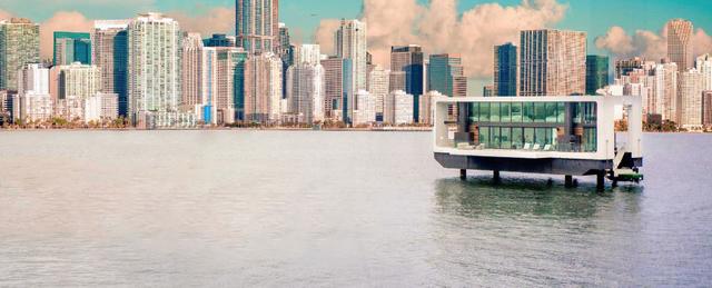 Dinh thự 400 m2 trên mặt nước tự vận hành bằng năng lượng xanh - 2