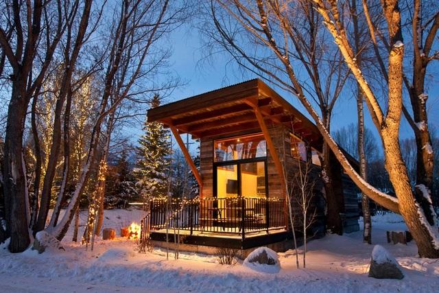 Ngôi nhà nhỏ lọt thỏm giữa thiên nhiên, gây mê hoặc bởi vô vàn cảnh sắc - 4
