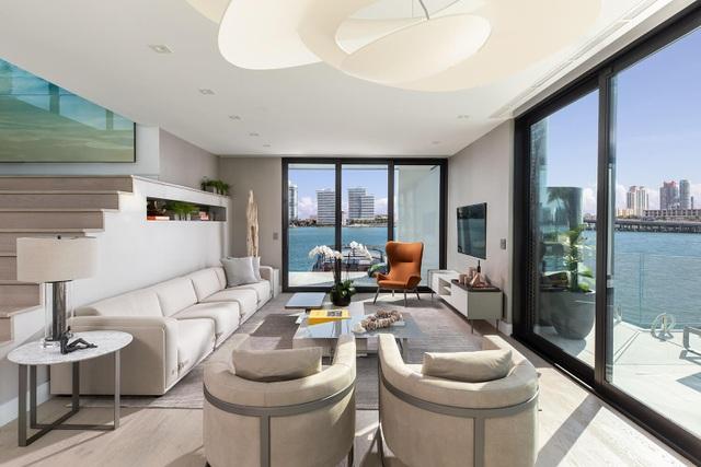 Dinh thự 400 m2 trên mặt nước tự vận hành bằng năng lượng xanh - 7