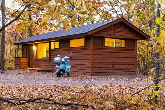Ngôi nhà nhỏ lọt thỏm giữa thiên nhiên, gây mê hoặc bởi vô vàn cảnh sắc - 8