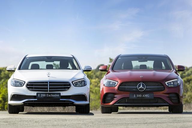 Mercedes-Benz E-Class 2021 giá từ 2,31 tỷ, cạnh tranh BMW 5-Series - 1