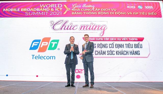 FPT Telecom được Khách hàng bình chọn dịch vụ chăm sóc tốt nhất nhiều năm liền - 1
