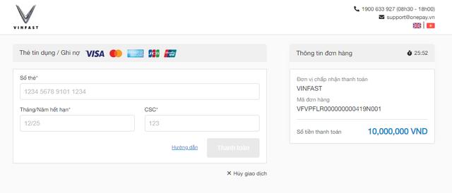 Đặt cọc xe điện VinFast VFe34 dễ dàng chỉ trong 2 phút - 3