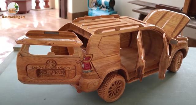 Chiếc C8 Corvette bằng gỗ của thợ mộc Việt lại gây xôn xao trời Tây - 1