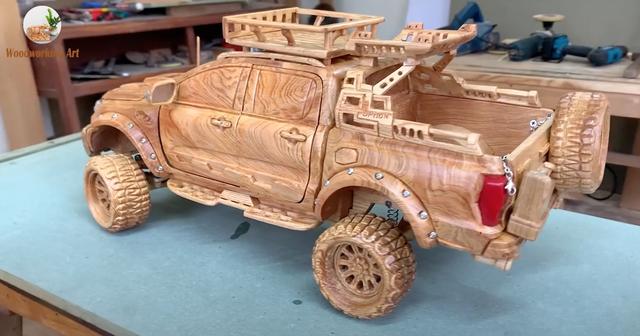 Chiếc C8 Corvette bằng gỗ của thợ mộc Việt lại gây xôn xao trời Tây - 2