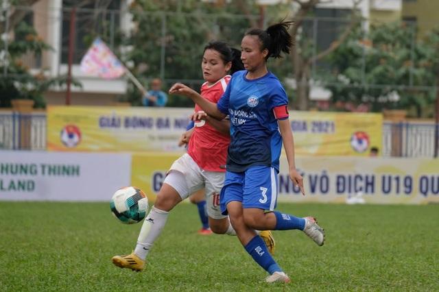 U19 Than KSVN vô địch lượt đi giải bóng đá nữ U19 Quốc gia 2021 - 1