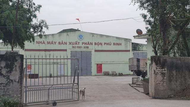 Nhà máy sản xuất phân bón Phú Sinh, đóng chân trên xóm 5, xã Quỳnh Mỹ, Quỳnh Lưu, Nghệ An.
