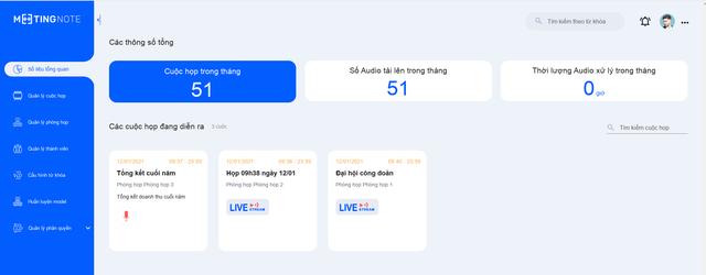 Meeting note ứng dụng nhận diện giọng nói tiếng Việt - 1