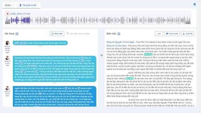 Meeting note ứng dụng nhận diện giọng nói tiếng Việt - 2