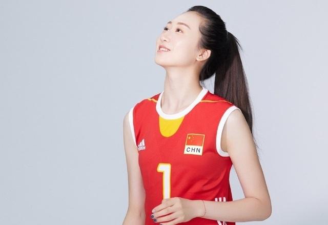 VĐV bóng chuyền xinh như thiên thần của Trung Quốc bất ngờ giải nghệ sớm - 4