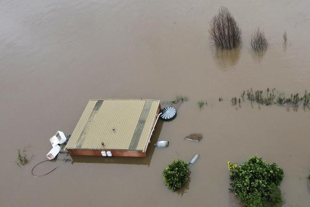 Australia tan hoang trong biển nước vì trận lũ tồi tệ nhất 50 năm qua - 7