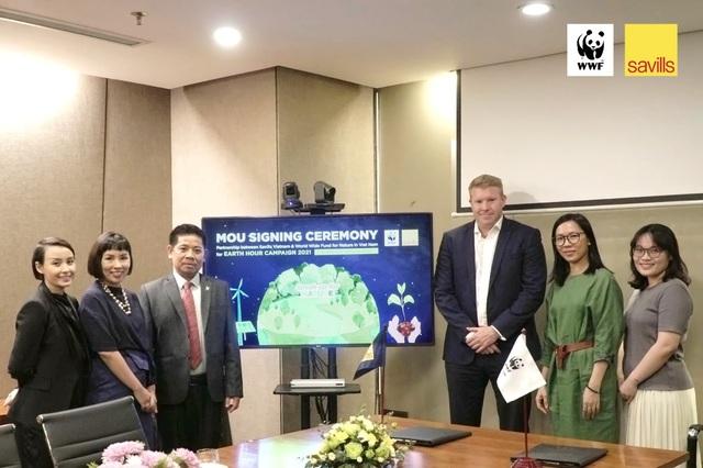Savills Việt Nam ký kết hợp tác với tổ chức WWF - 1